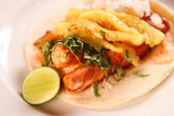 Tacos de Pescado al Pastor